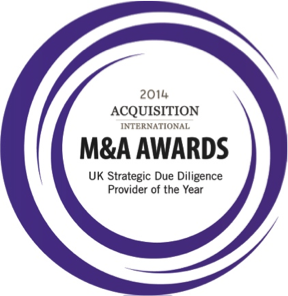 Strategic due diligence provider of the year